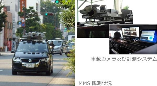 車載カメラ及び計測システム&MMS観測状況photo