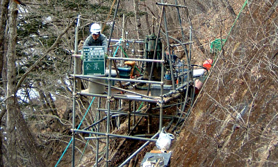 地質・土質調査、さく井