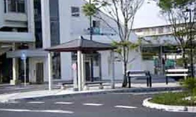 小山市役所 間々田駅東口駅前広場整備工事
